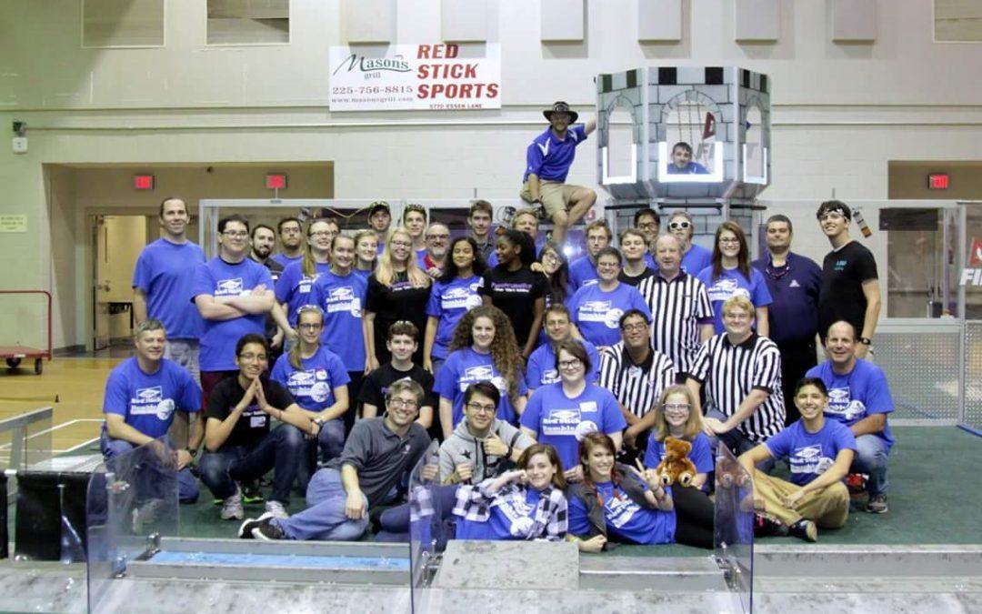 Robotics Competition Draws Large Crowds, Large Robots