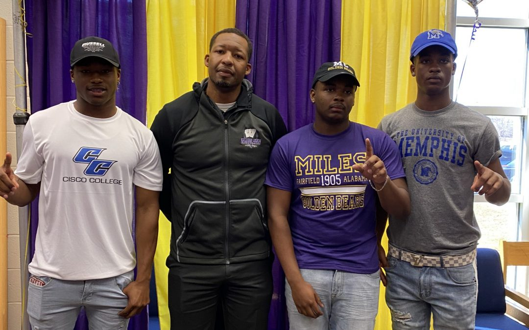 Panther Seniors Participate in National Signing Day